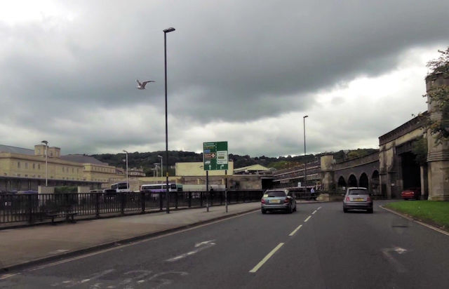 A36 from Churchill Bridge