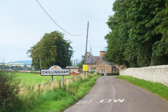 Chillingham Village Sign