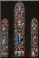 TF2522 : East window, Ss Mary & Nicholas church, Spalding by Julian P Guffogg