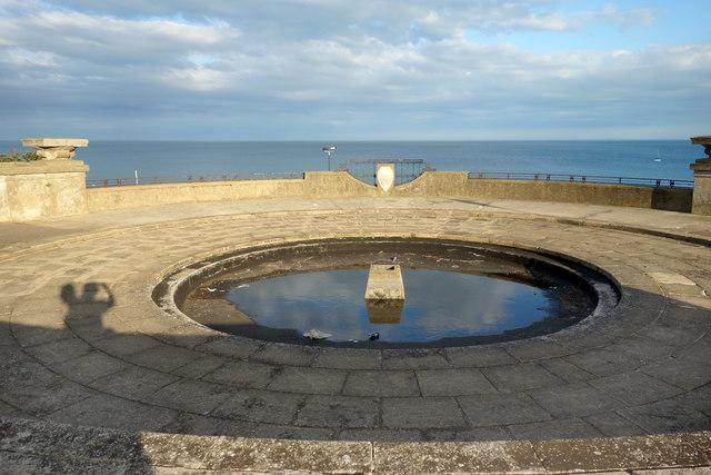 Fountain in Winterstoke Gardens