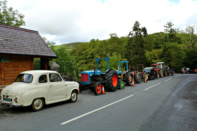A tractor convention