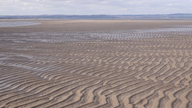 Ripples in the sand, Tentsmuir