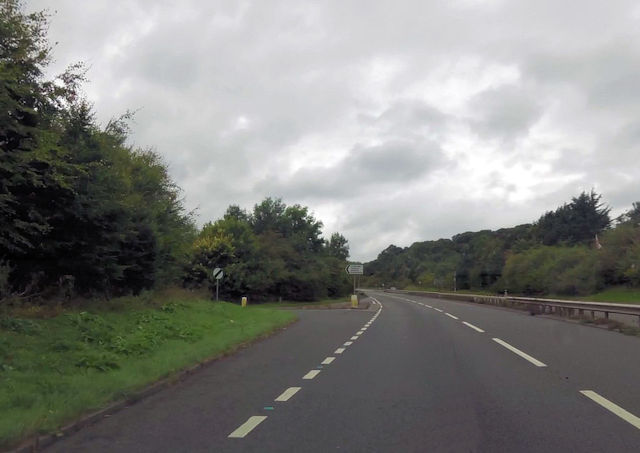 Junction for Swainswick from A46
