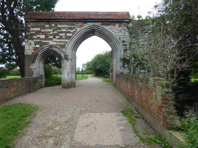 Waltham Abbey Gatehouse