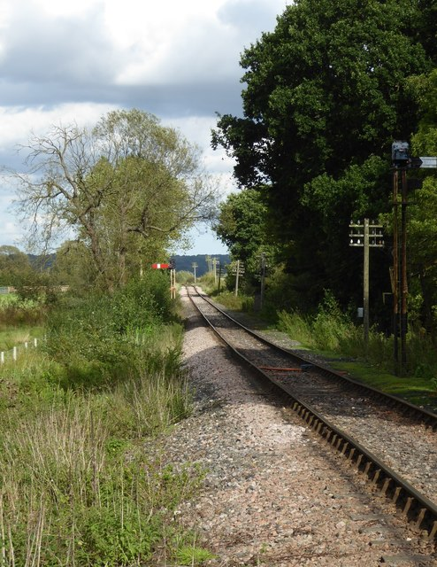 Along the line: the Kent & East Sussex Railway east of Northiam station