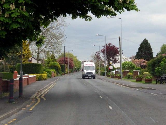 Lytham Road in Freckleton