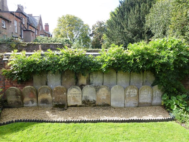 Gravestones of The Peckovers of Wisbech