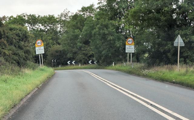 A46 approaching Old Sodbury