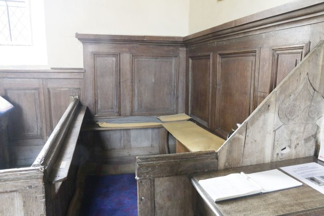 Pew at the Back