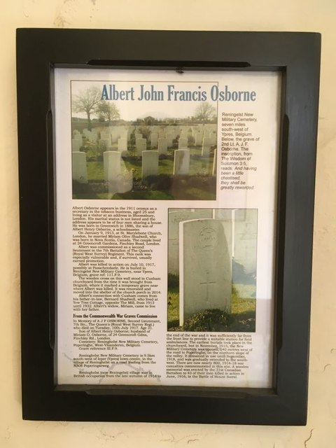 Information on the Grave