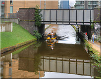 SJ8297 : Waxi on the Bridgewater Canal by David Dixon