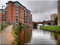 SJ8297 : Bridgewater Canal at St George's by David Dixon