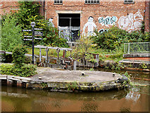 SJ8297 : Bridgewater Canal, Hulme Locks by David Dixon