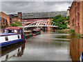 SJ8397 : Bridgewater Canal, Castlefield Basin by David Dixon