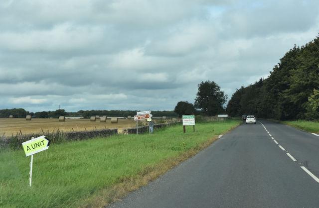 Crossroads near Chavenage