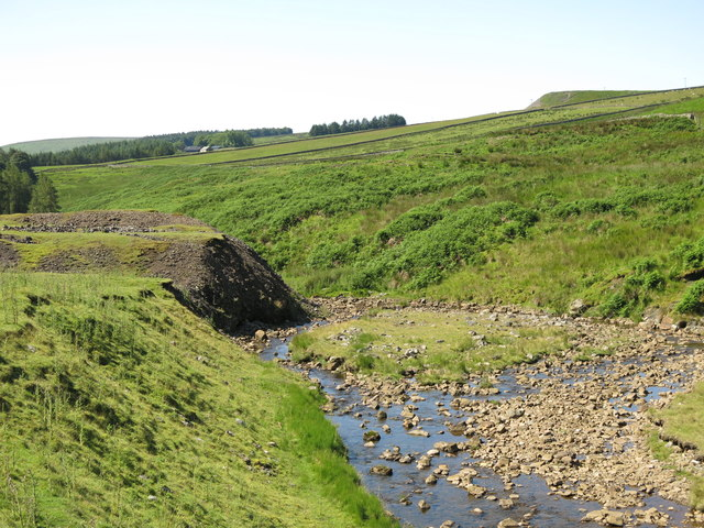 The valley of Hudeshope Beck by the Skears Hushes