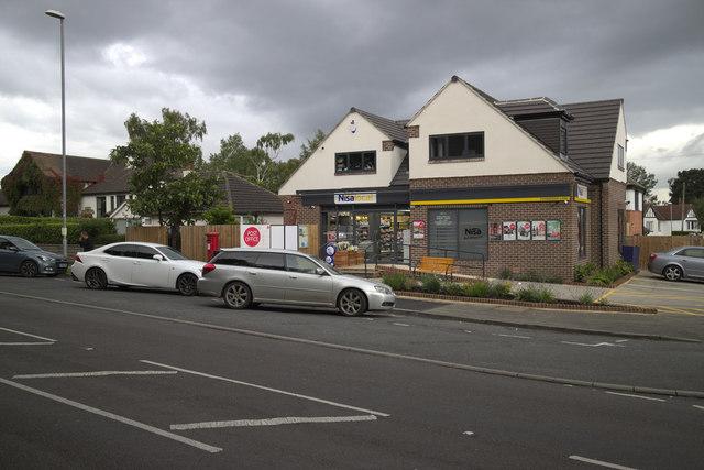 Post Office and Shops, Cookridge Lane
