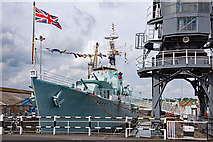 TQ7569 : HMS Cavalier - September 2017 (1) by The Carlisle Kid