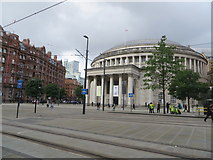 SJ8397 : Manchester Central Library by Philip Platt
