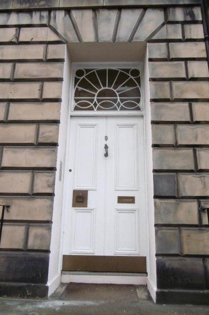 New Town door