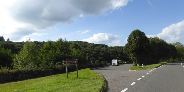 Lay-by by A6 north of Ambergate