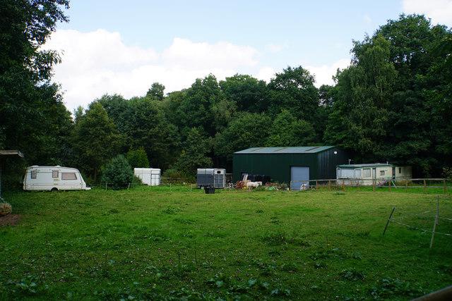 Facilities for horses at Stonyford by Bill Boaden