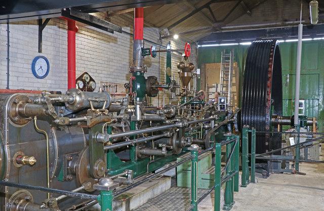 Bancroft Mill Engine Trust - the Bradley engine
