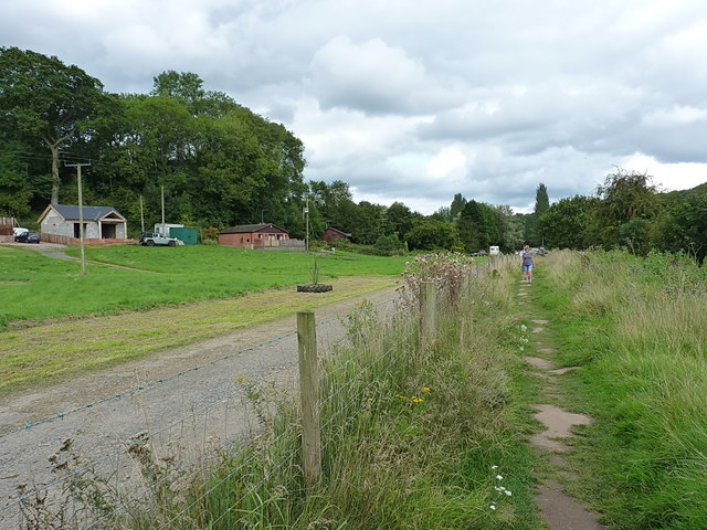On the Severn Way at Stanley
