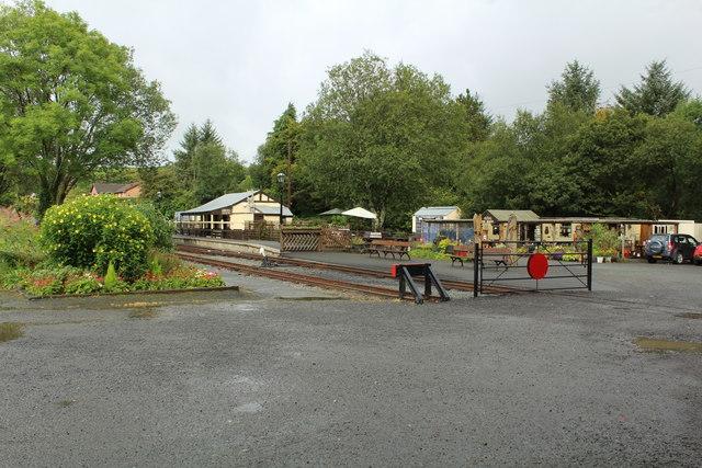 Devil's Bridge - station area