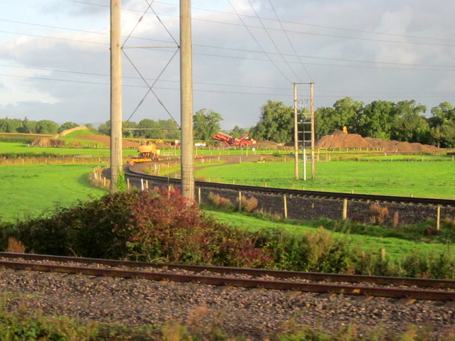 Rail Junction Near Norton Fitzwarren