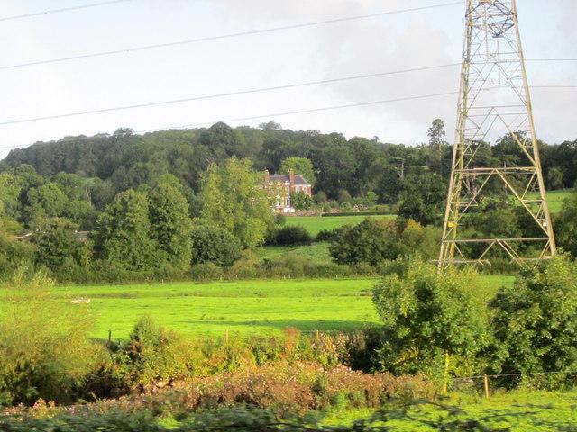 Pylons Near Exeter