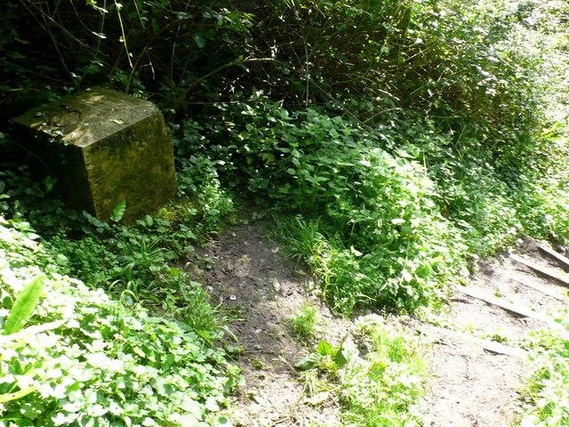 Boundary Stone, Undercliff, Charton Bay