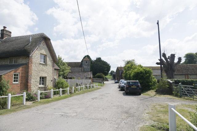 Towards Manor Farm