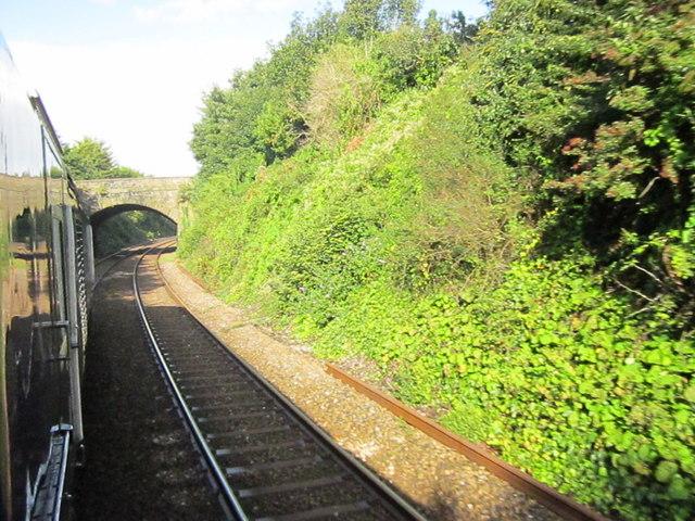 Plymouth Molesworth Road Bridge Over Railway Line