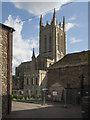 TL8564 : St Edmundsbury Cathedral, Bury St Edmunds by John Salmon