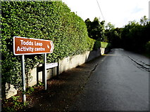 H6059 : Todds Leap Road, Shantavny Scotch / Greenhill Demesne by Kenneth  Allen