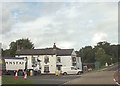 SJ2824 : Llynclys crossroads and the White Lion by John Firth
