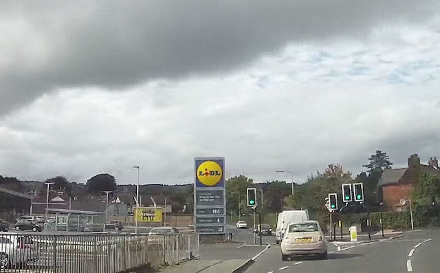 The new Lidl store Oswestry