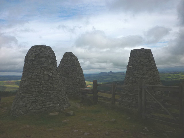 The Three Brethren cairns