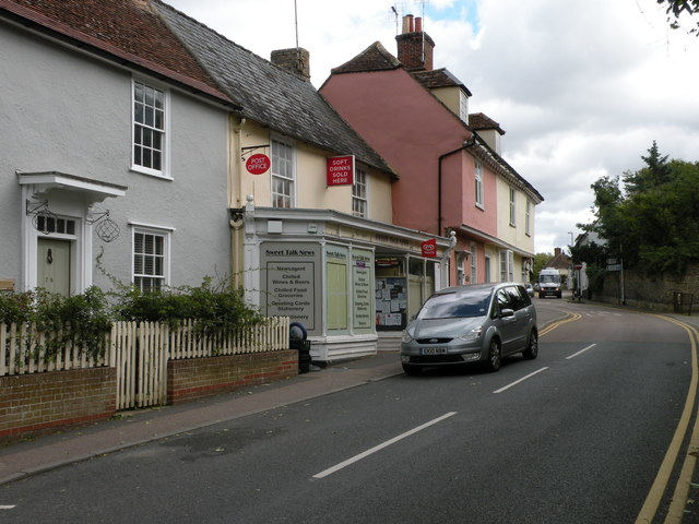 New Linton Post Office, High Street