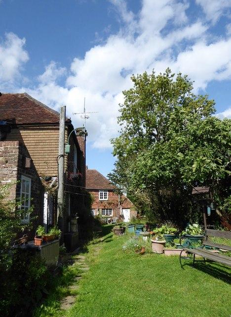 Staplehurst: view north from the churchyard