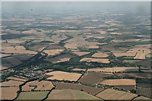 TL7835 : Great Yeldham and area: aerial 2017 by Chris