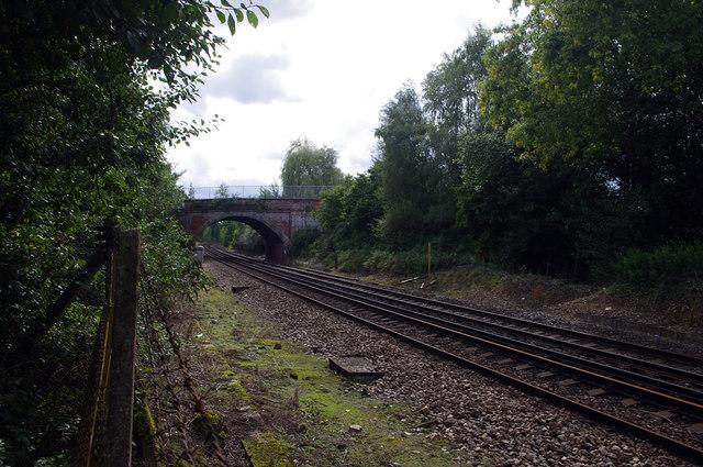 Site of Peasmarsh Junction