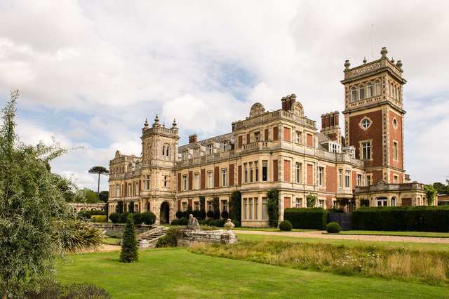 Somerleyton Hall - west and south elevation