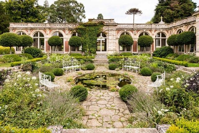 Sunken garden, Somerleyton Hall