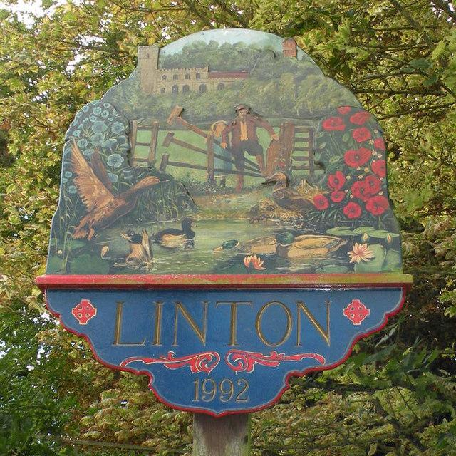 Linton Village Sign
