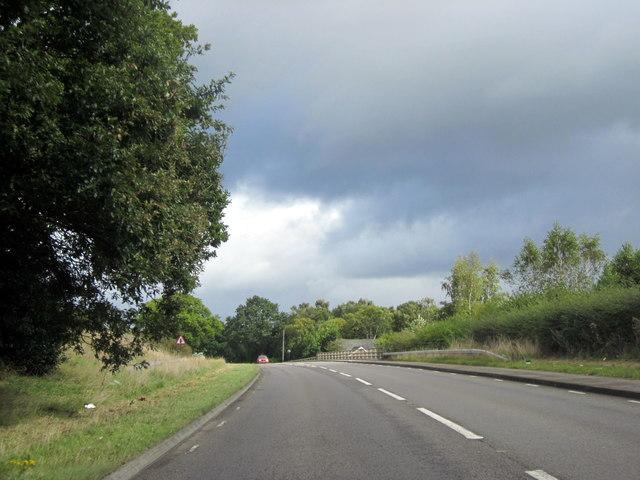 A453 Tamworth Road Crossing M6 Toll Road
