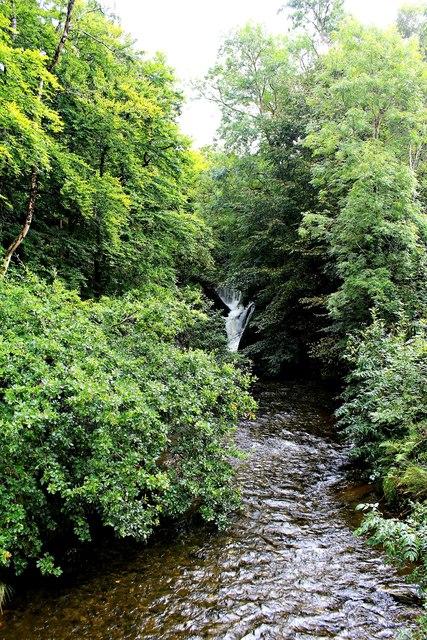 Waterfall on Afon Einion