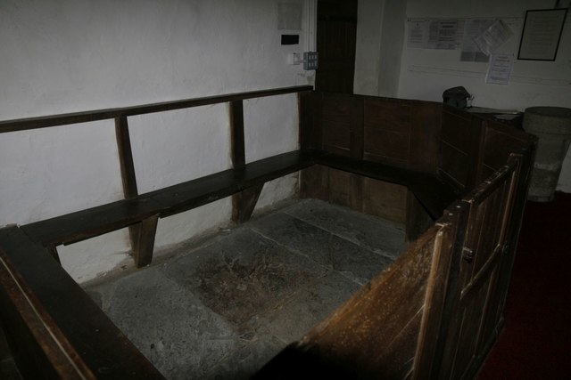 One of the Box Pews