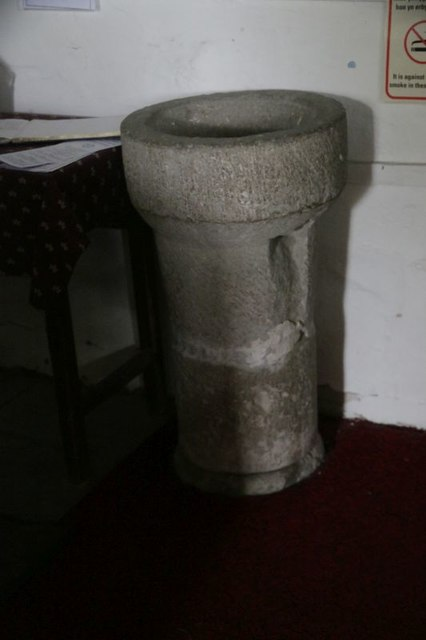 Font in St Michael